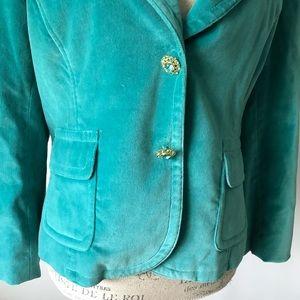 methode Jackets & Coats - 🐰 Methode Suede Velour Velvet Blazer Double